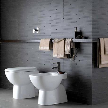 Sanitari bagno Vaso Pozzi-Ginori Serie Fantasia 2 scarico a parete